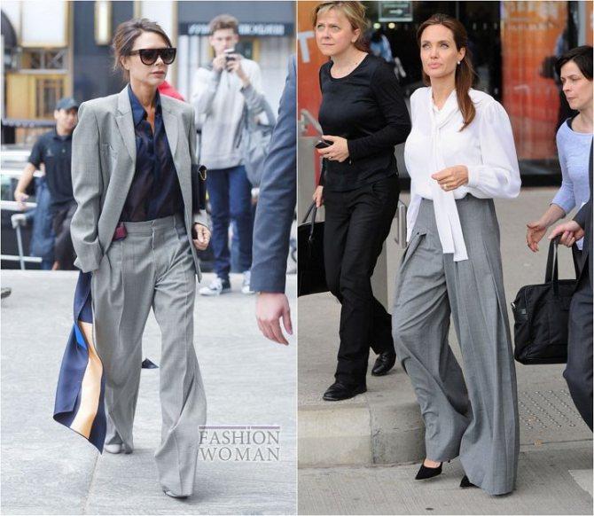 С чем носить широкие брюки: модные идеи на каждый день фото №7