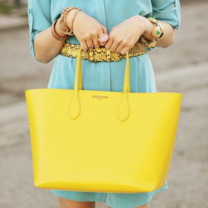 с чем носить желтую сумку летом фото