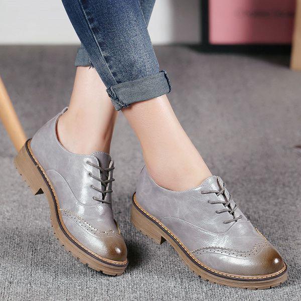 С чем носить женские броги, особенности и виды красивых моделей туфель