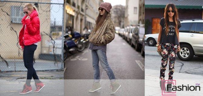 С чем носить женские сникерсы – фото стильных образов и идей