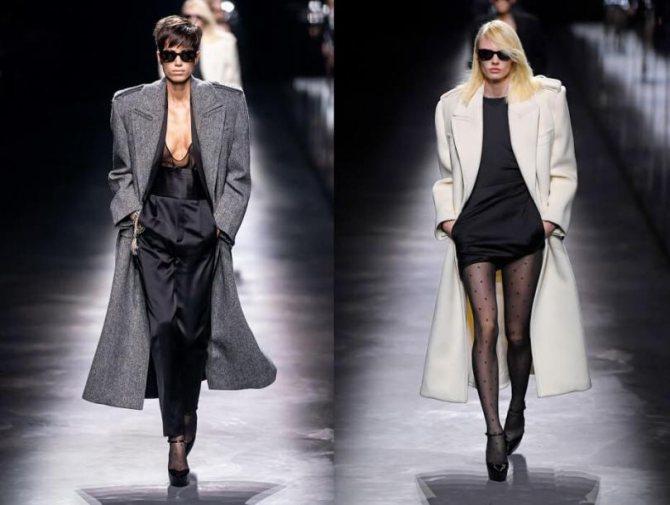 С чем носить женское пальто мужского кроя в 2020 году