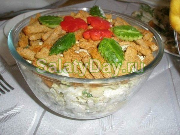 Салат колбасный, на закуску