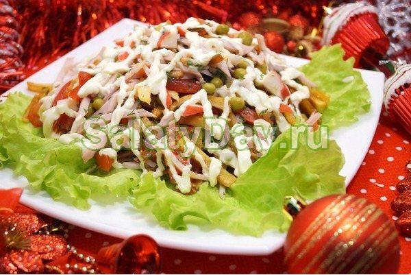 Салат на новый год «Маскарад»