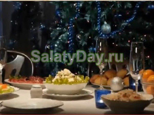Салат на новый год «Оливье – необычный рецепт»