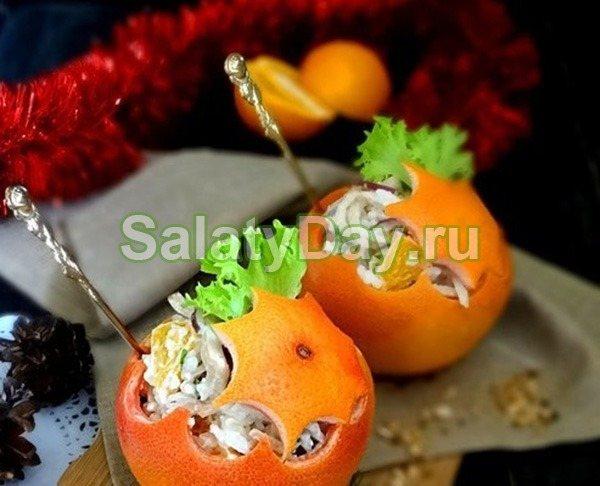 Салат «Новогодние шары»