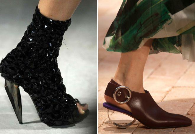 самая модная весенняя обувь