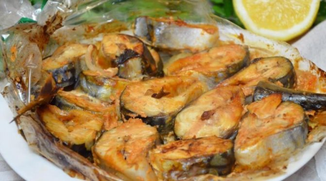 Самая вкусная рыба в рукаве, запеченная с овощами в духовке