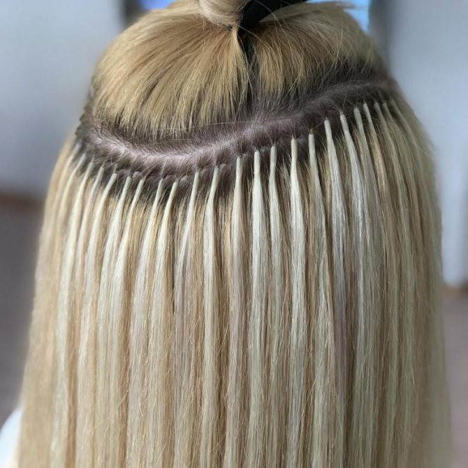самое безопасное наращивание волос