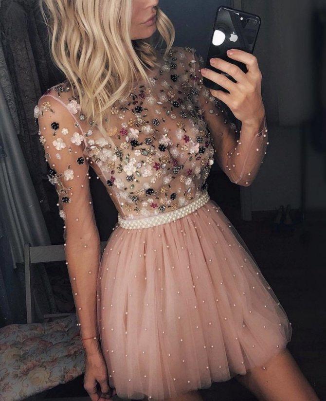 Самые красивые короткие вечерние платья: фото, фасоны, новинки