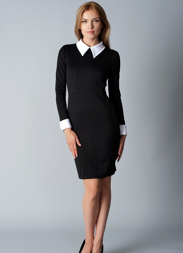 Самые красивые офисные платья – фото, модели, новинки