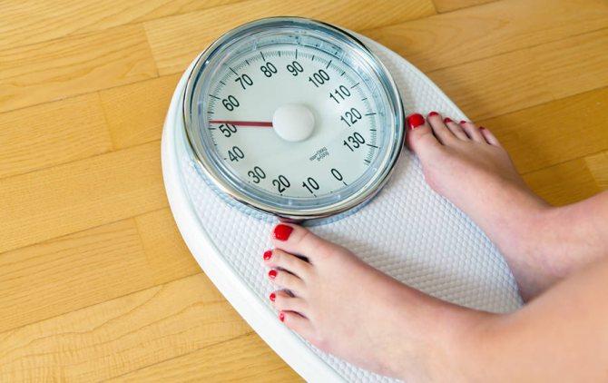сброс веса от холодной воды