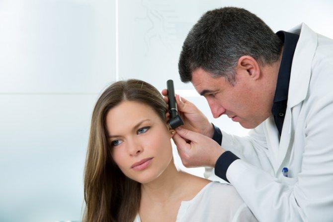 Себорейный дерматит на ухе и в ушной раковине