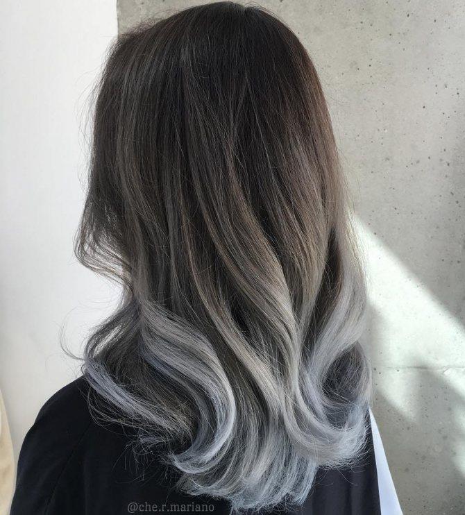 Седой цвет волос (16)