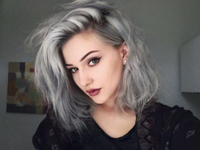 Седой цвет волос (17)