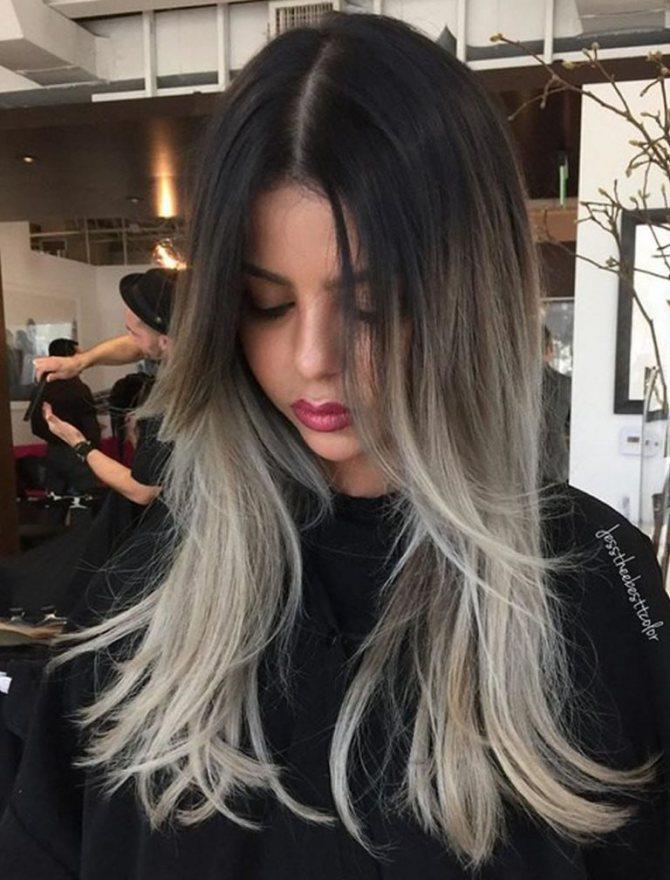 Седой цвет волос (23)