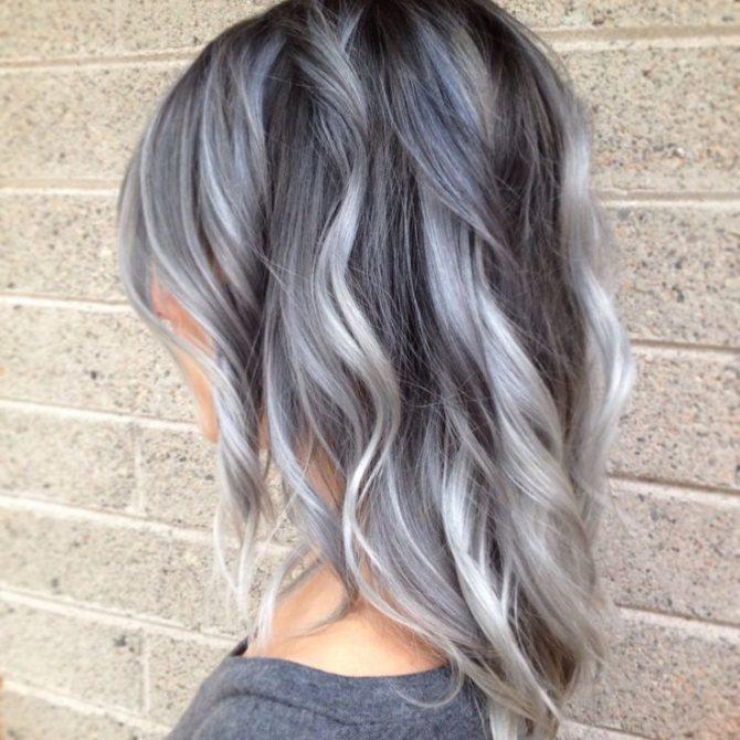 Седой цвет волос (26)
