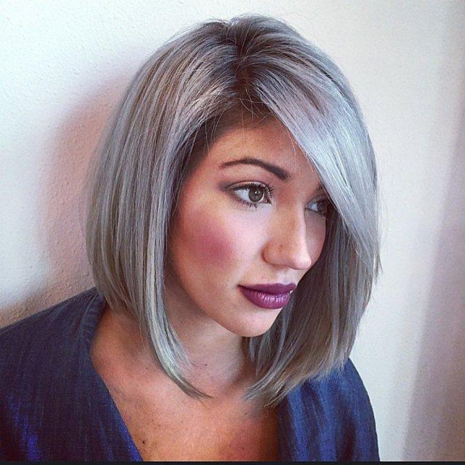 Седой цвет волос (28)