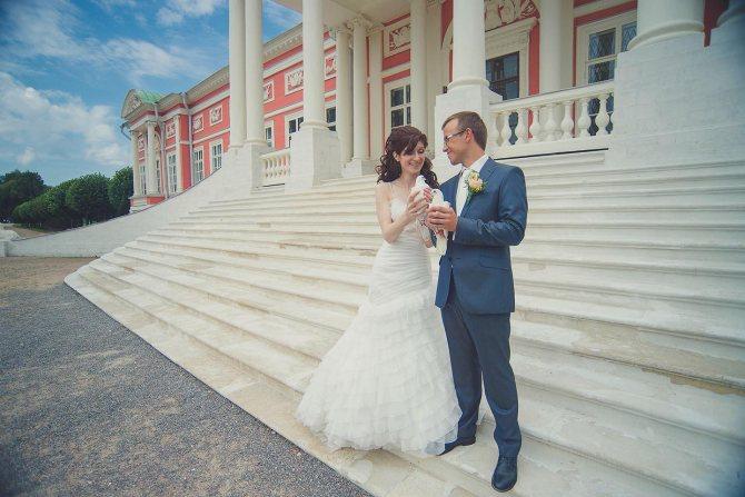 Селигер – популярное место для проведения свадебного торжества на природе.
