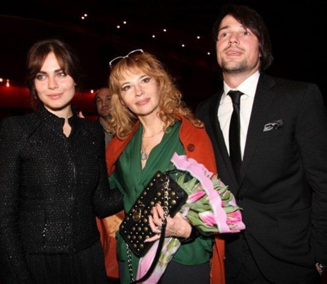 Семья Данилы Козловского фото