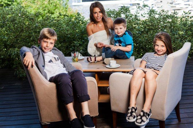 Семья Юлии Барановской фото