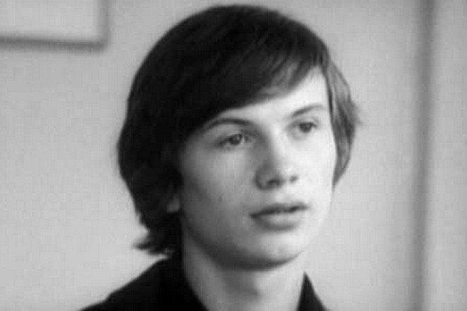 Сергей Кошонин в юности (кадр из фильма «Дневник директора школы»)
