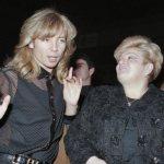 Сергей Зверев и Долорес Кондрашова. Москва, 1994-й.