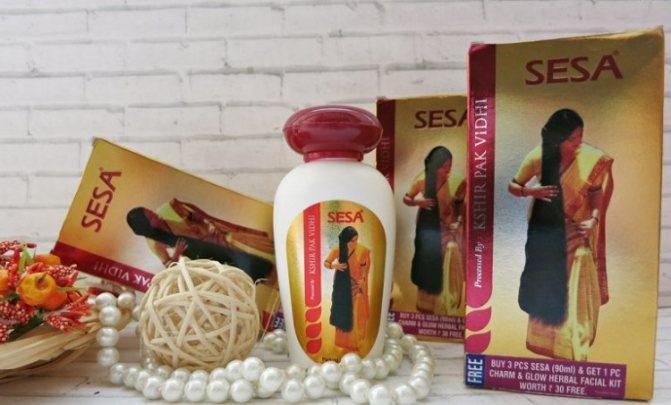 SESA - натуральное индийское масло для волос