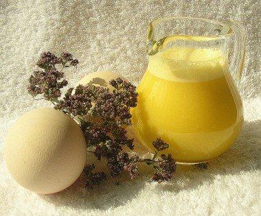 Шампунь из яйца в домашних условиях