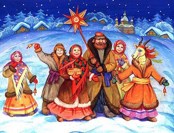 Щедривки на русском и украинском языках — смешные и короткие для детей и взрослых. Дитячі щедрівки