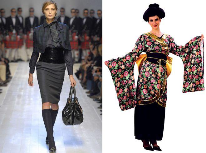 широкие пояса в истории моды