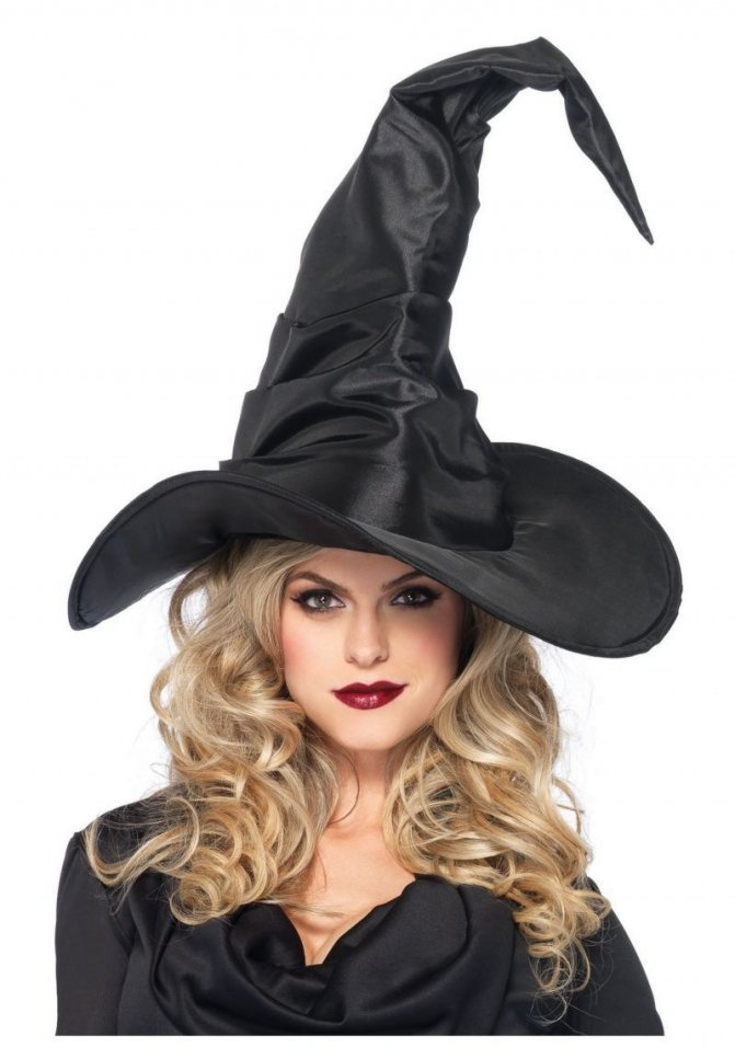 Широкополая шляпа Ведьмы с острым концом