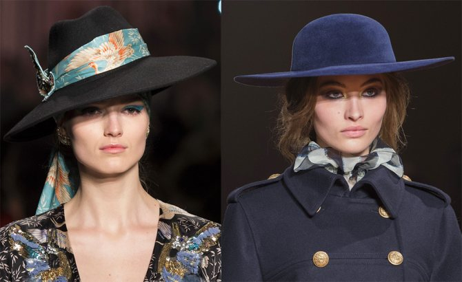 Шляпы и модные тенденции