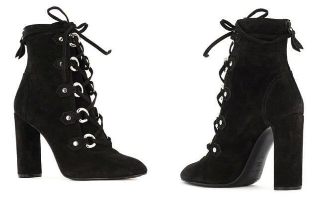 Шнуровка ботинок