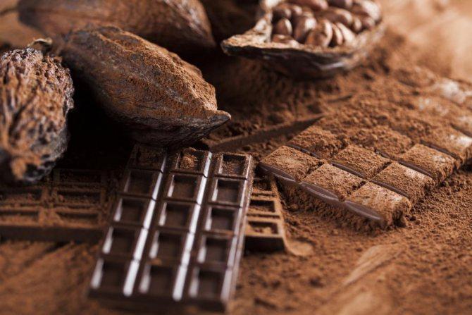 Шоколадные бобы