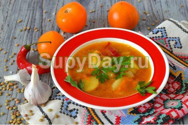 Шулюм - утиный суп с картофелем