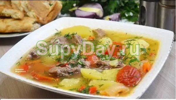 Шурпа - шулюм из баранины по - дагестански
