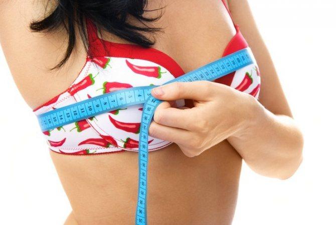 Сила трав для увеличения груди