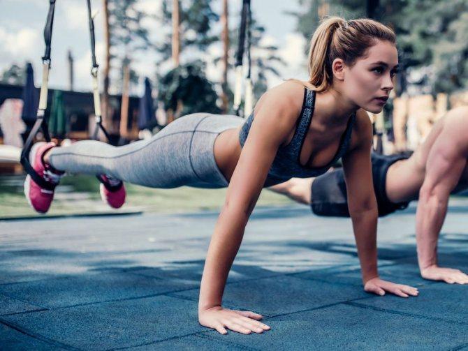 Силовая тренировка на жиросжигание