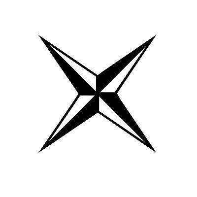 символ четырехконечная звезда