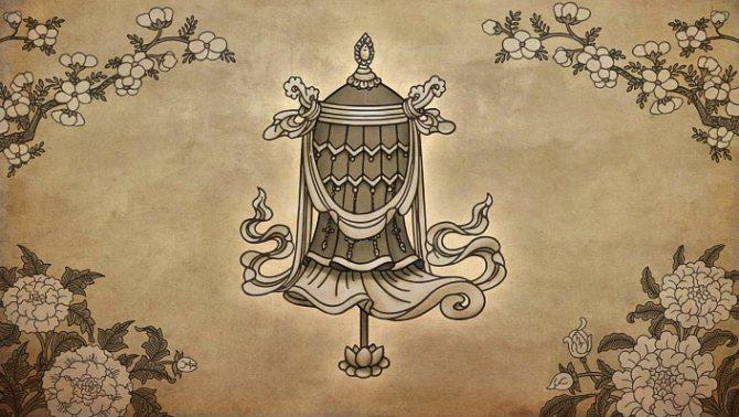 символы буддизма знамя победы