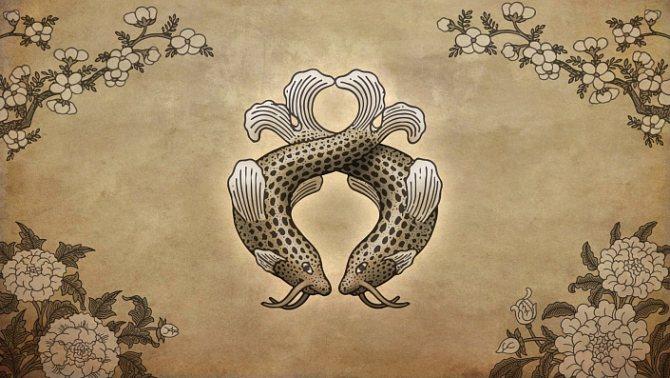 символы буддизма золотые рыбки