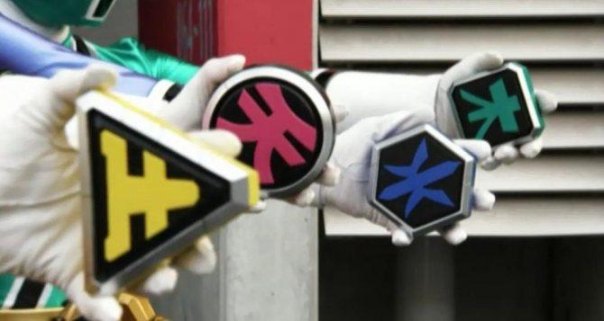 Символы самураев-рейнджеров