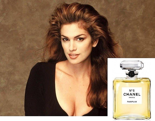 Синди Кроуфорд — Chanel №5