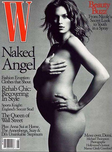 Синди Кроуфорд на обложке издания W