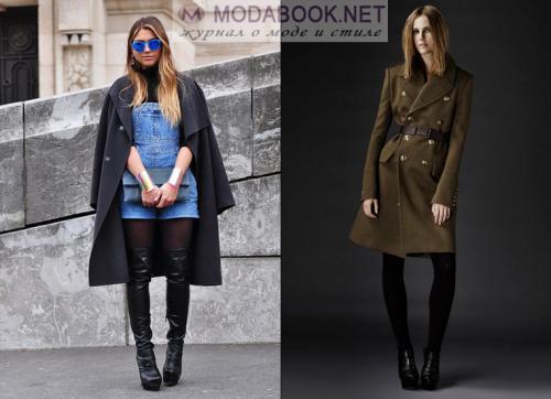 Сиреневое пальто с чем носить. С чем носить фиолетовое пальто 27