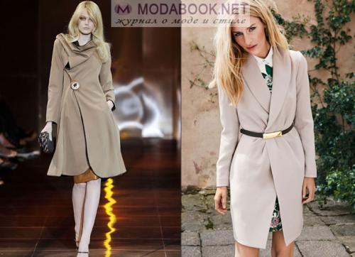 Сиреневое пальто с чем носить. С чем носить фиолетовое пальто 29