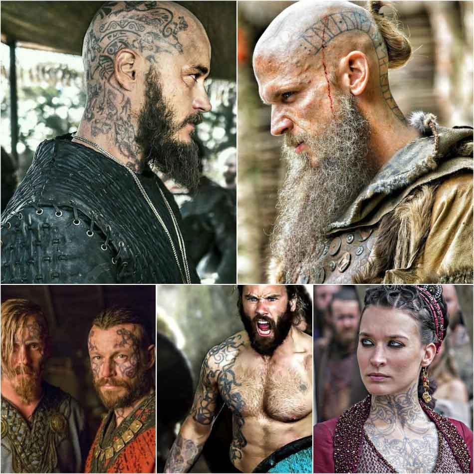 Скандинавские тату - Тату из сериала викинги - Тату викингов