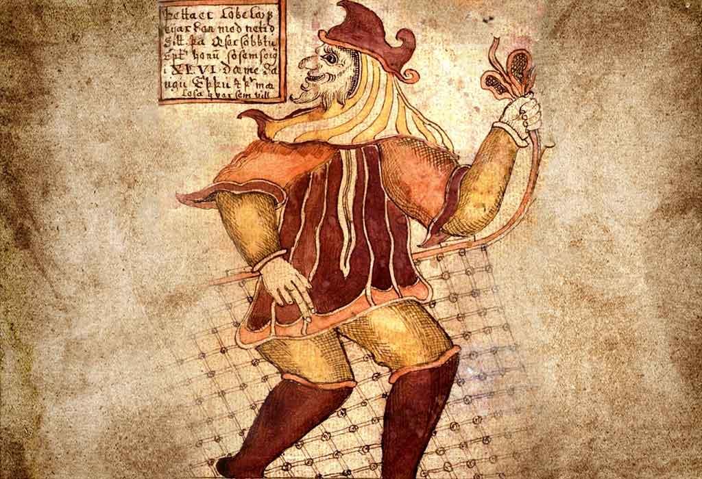 Скандинавский бог Локи