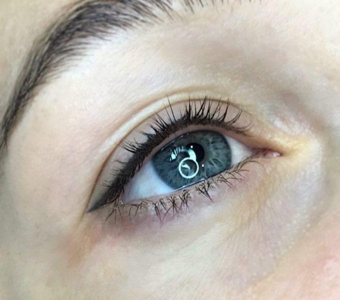 Сколько держится татуаж стрелок на глазах