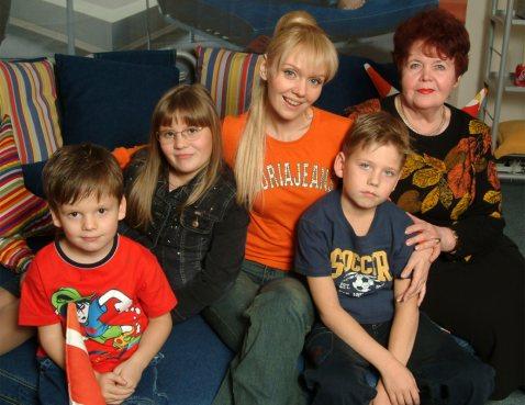 Сколько детей у Валерии: фото